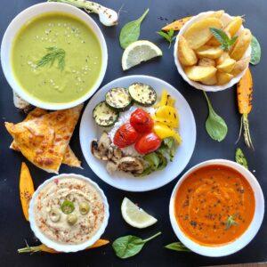 Meniul zilei vegetarian